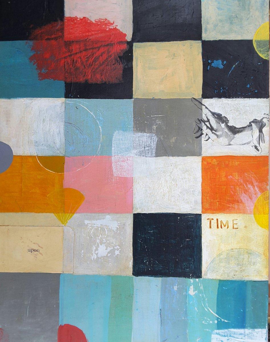 mixed medium, painting, mo hamilton